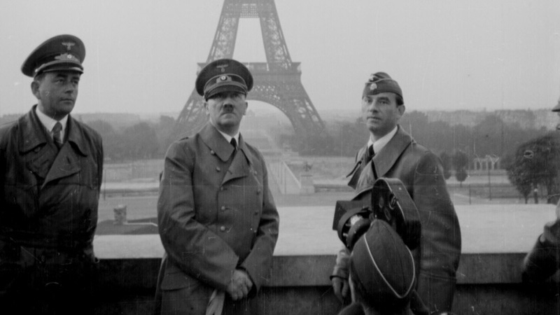 Adolf Hitler in Paris, June 23, 1940