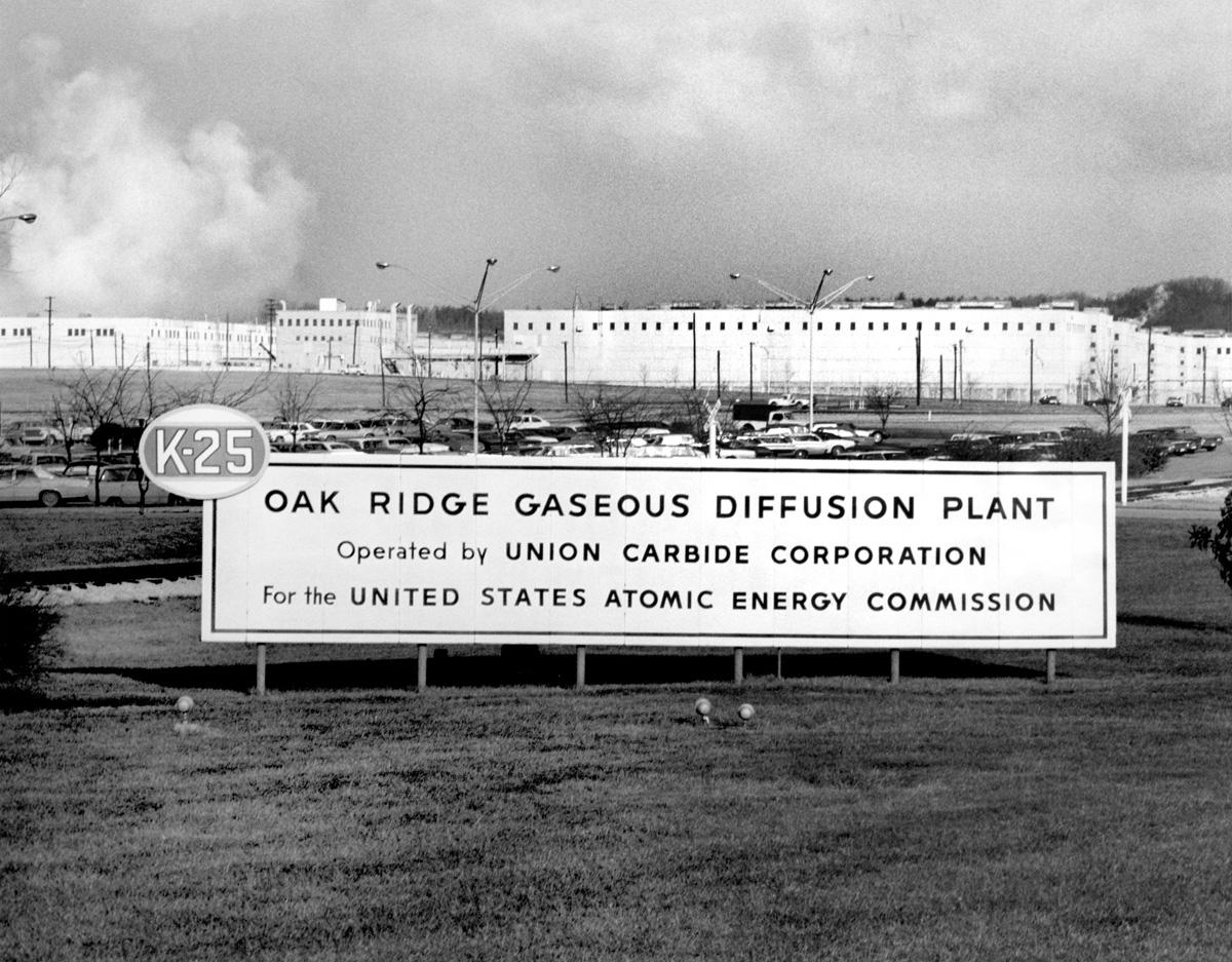 Oak Ridge Gaseous Diffusion Plant 1971