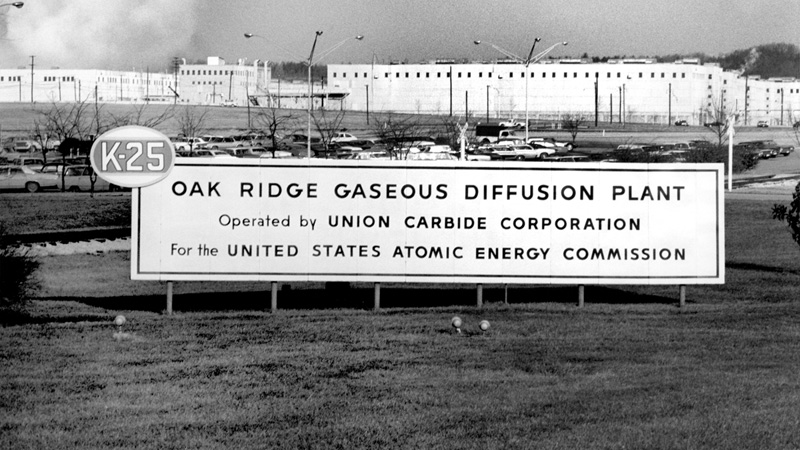 Oak Ridge Gaseous Diffusion Plant - 1971