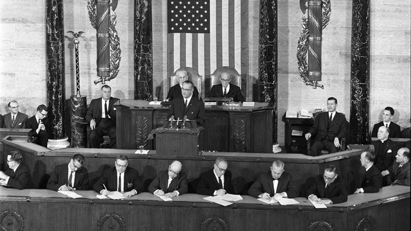 President Johnson - State of the Union