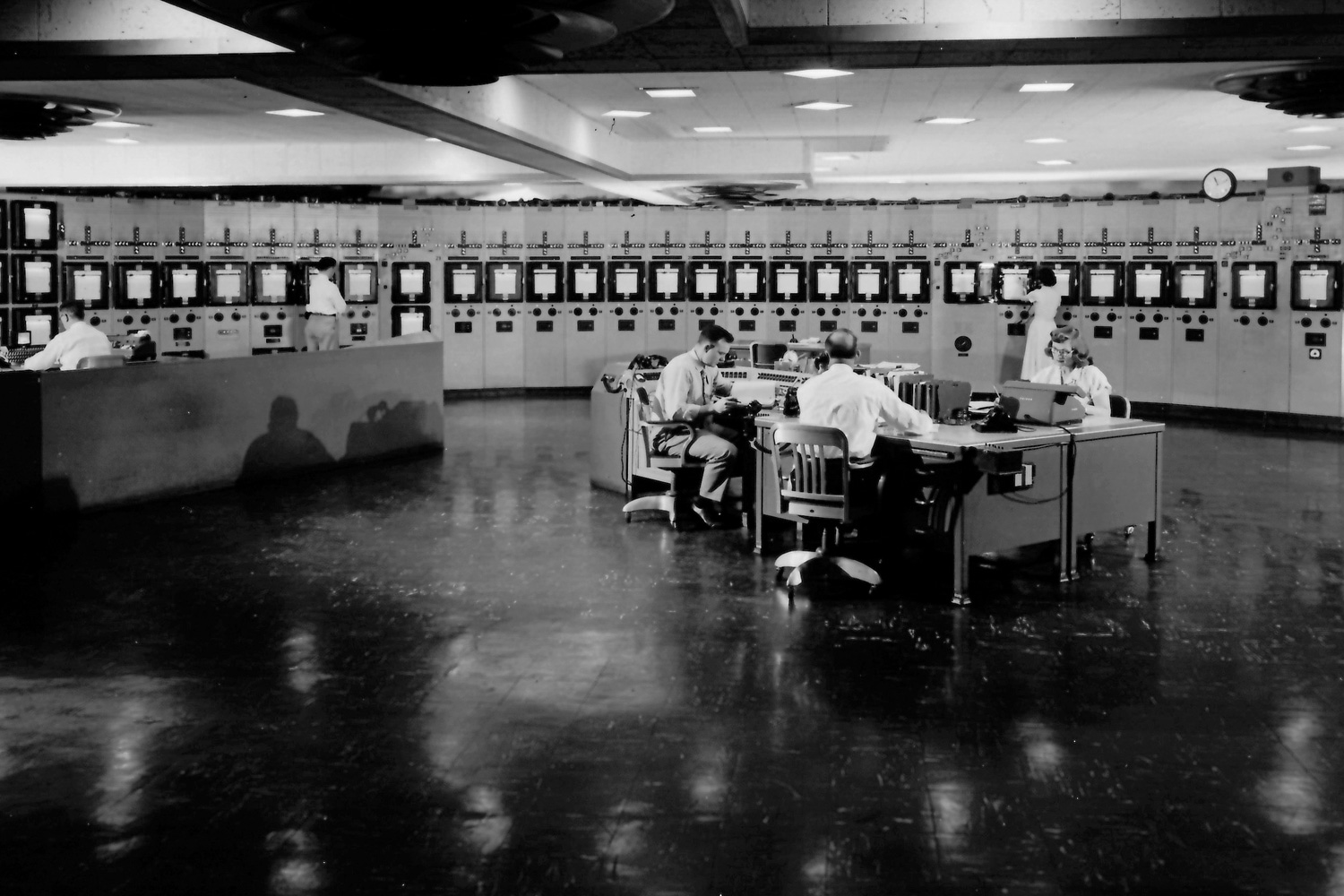 K-25 Central Control Room